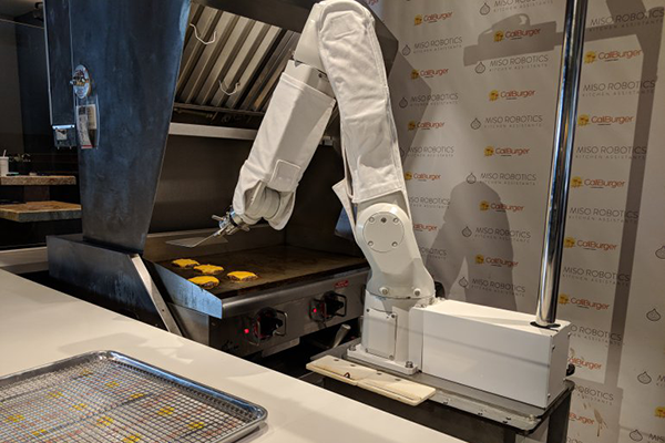 Flippy the Burger Flipping Robot Is Now Cooking at the CaliBurger Fast Food Chain